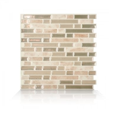 Bellagio Sabbia Smart Tiles Peel & Stick Backsplash
