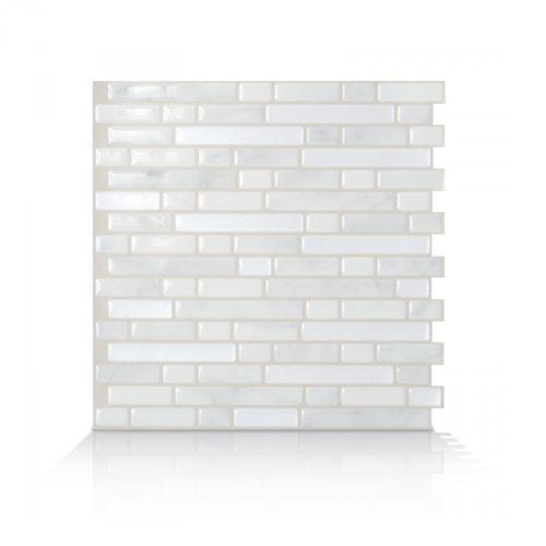 Bellagio Marmo Smart Tiles Peel & Stick Backsplash