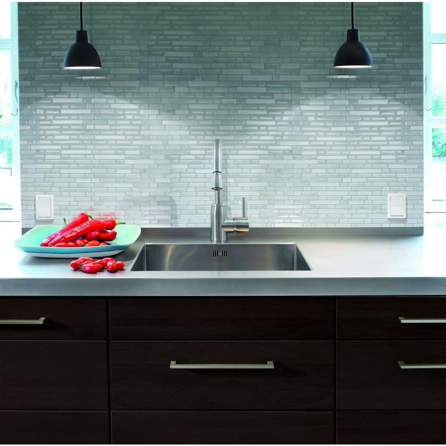 Bellagio Marmo Peel & Stick Smart Tiles Backsplash