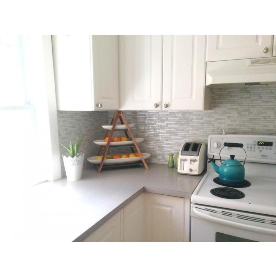 bellagio marmo peel stick smart tiles backsplash. Black Bedroom Furniture Sets. Home Design Ideas