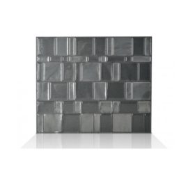 Tango Onyx Smart Tiles Peel & Stick Backsplash