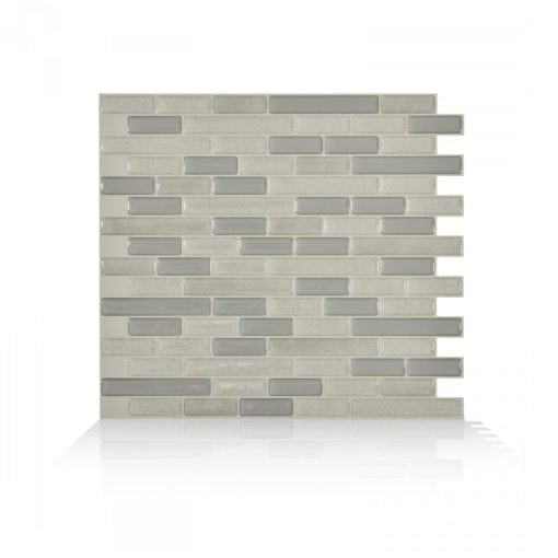 Muretto Beige Smart Tiles Peel & Stick Backsplash