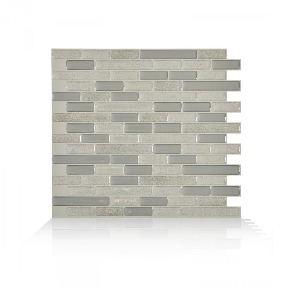 Muretto Beige Peel Stick Smart Tiles Backsplash