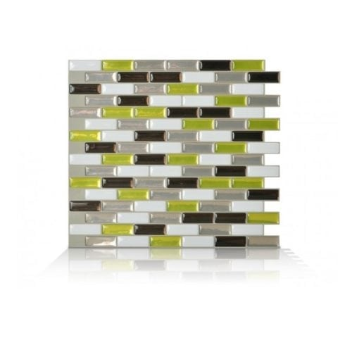 Murano Verde Smart Tiles Peel & Stick Tile