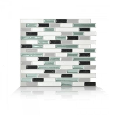 Muretto Prairie Smart Tiles Peel & Stick Backsplash