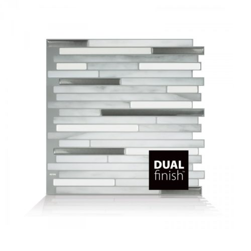 Capri Carrera Smart Tiles Peel & Stick Backsplash