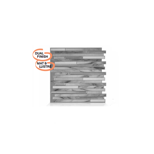 Capri Carrera Peel Amp Stick Smart Tiles Backsplash