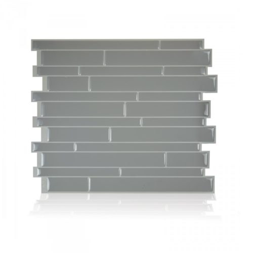 Milano Platino Smart Tiles Peel & Stick Backsplash