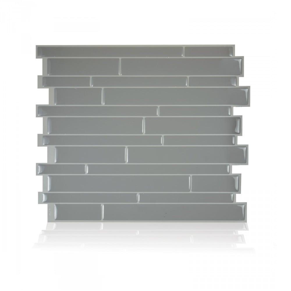 Milano Platino Peel Stick Smart Tiles Backsplash
