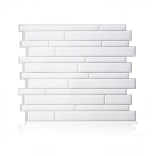 Milano Blanco Smart Tiles Peel & Stick Backsplash