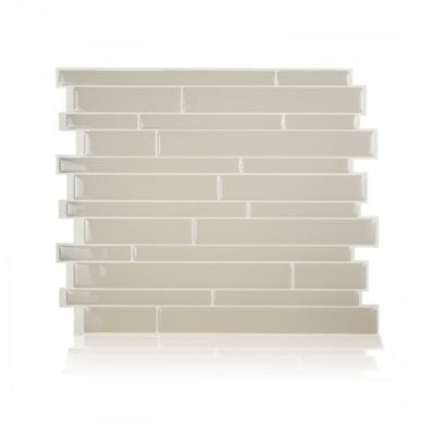 Milano Crema Smart Tiles Peel & Stick Backsplash