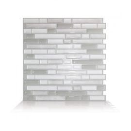 Bellagio Blanco Smart Tiles Peel & Stick Backsplash