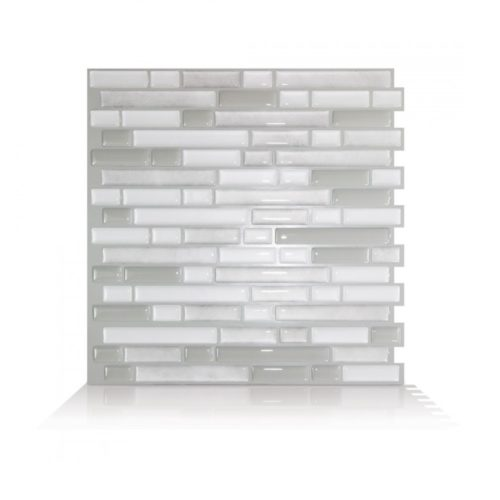 Bellagio Blanco Smart Tiles Peel & Stick Backsplash
