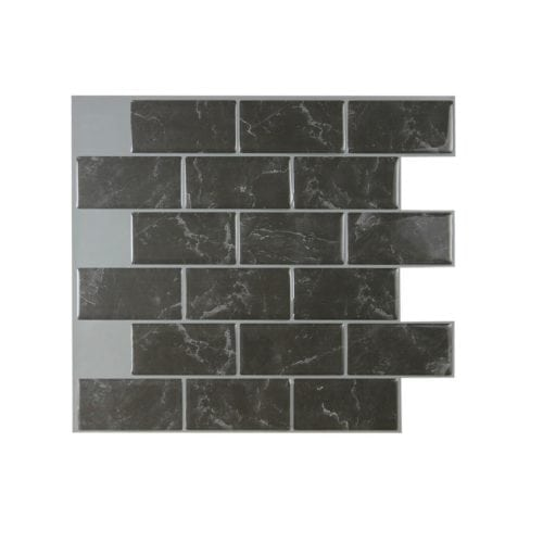 Best X10 Peel N And Stick Backsplash Tile For Kitchen: Subway Marbella Peel & Stick Tile Backsplash