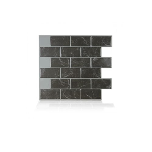 Best X10 Peel N And Stick Backsplash Tile For Kitchen: Subway Marbella Peel And Stick Tile Backsplash