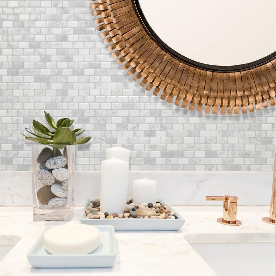 Ravenna Roma, Peel & Stick Smart Tiles Backsplash