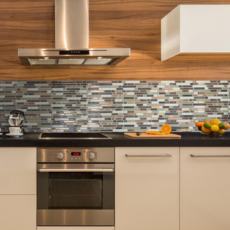 Bellagio Nola Peel Stick Smart Tiles Backsplash