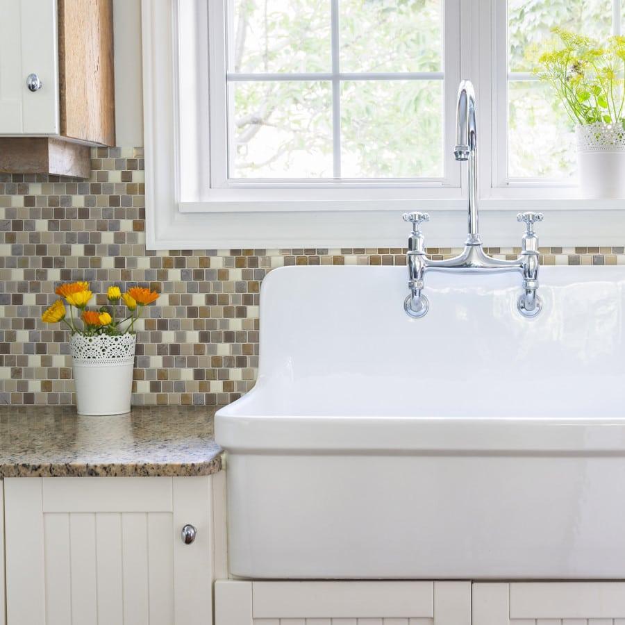 Brixia Pardo Peel & Stick Smart Tiles Backsplash