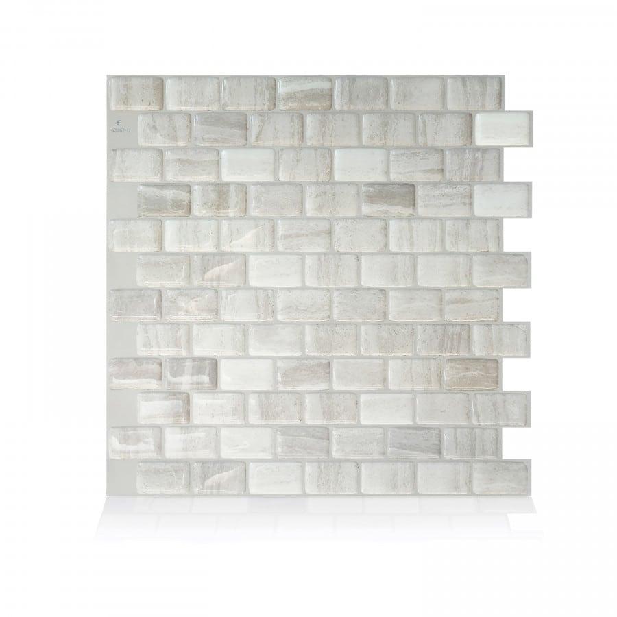 Ravenna Farro Peel Stick Smart Tiles Backsplash