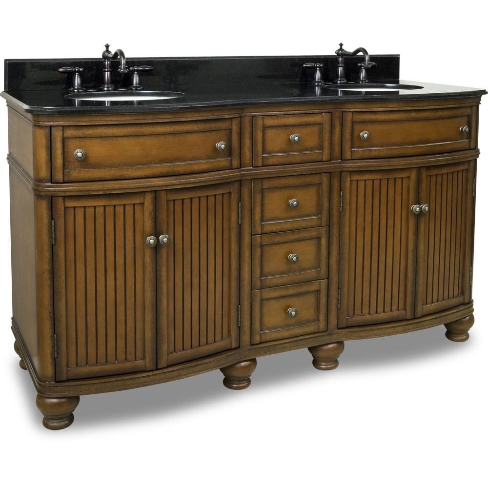 Compton Double Vanity Van029d 60 By Elements Bathroom Vanity
