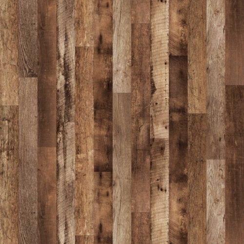 Repurposed Oak Planked