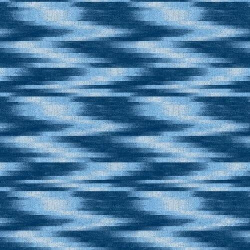 Y0564 Baltic Blue Ikat Wilsonart Sheet Laminate